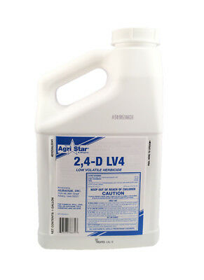 2,4-D Ester (Weedone LV4) Broadleaf Weed Killer Herbicide - 1 Gallon