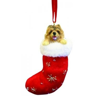 Chow Chow Dog Santa's Little Pals Stocking Christmas Ornament