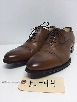 E44 To Boot New York Aidan Brown Leather Lace Up Oxford Men's Size 8 M