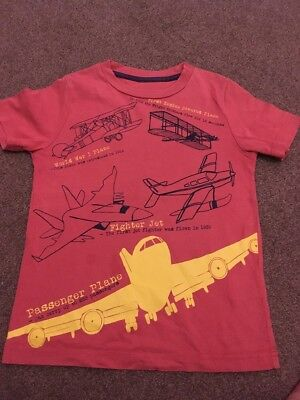 Boys Boden T Shirt Size 4-5 Years
