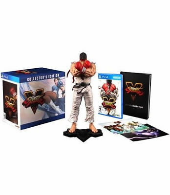 Street Fighter V - Collector''s Edition PS4 New PlayStation 4, PlayStation 4