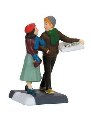 Dept 56 Christmas In the City Pizza Date #4056627 BRAND NEW Free Shipping