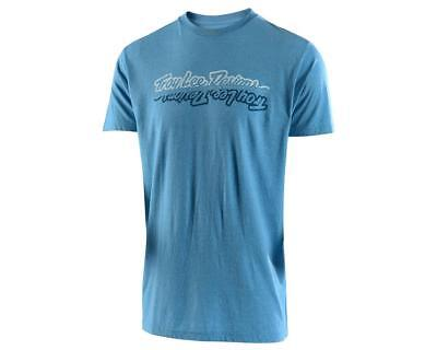702350314-P Troy Lee Designs All Time Tee (Sky Blue Heather)