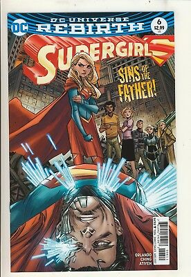 Supergirl (2016) 6 NM Cover A
