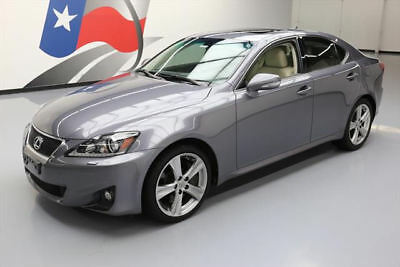 2012 Lexus IS Base Sedan 4-Door 2012 LEXUS IS350 SEDAN AUTO SUNROOF NAV REAR CAM 55K MI #030537 Texas Direct