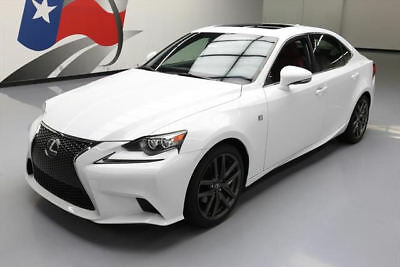 2014 Lexus IS  2014 LEXUS IS250 F-SPORT SUNROOF REAR CAM HTD SEATS 34K #004764 Texas Direct