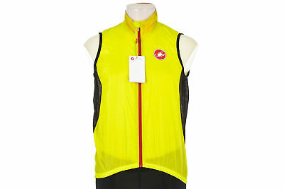 Castelli Velo Cycling Vest LARGE Road Mountain Packable