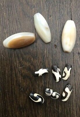 Antique African Trade Beads -9- Two Types