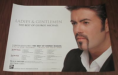 GEORGE MICHAEL Japan PROMO ONLY 72x51cm 1998 release poster WHAM! official