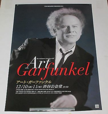 ART GARFUNKEL Japan PROMO ONLY TOUR POSTER 2014 Simon & Garfunkel MORE listed!