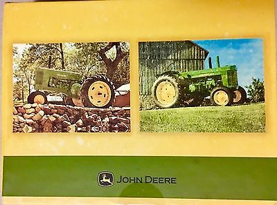 John Deere Note Cards In Collectible box New Sale 10 Note Cards With Envelopes