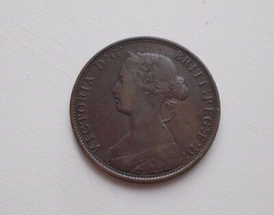 1864 New Brunswick  1 cent