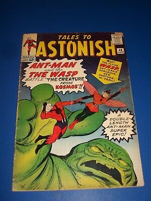 Tales to Astonish #44 Silver Age Ant-man 1st Wasp Super Huge Rare Key Wow
