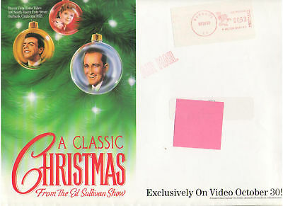 Ed Sullivan Bing Crosby Johnny Mathis Connie Francis Alvin & Chipmunks Press Kit