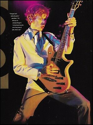 Beck Hansen live onstage with Schecter Guitar 8 x 11 pinup photo print