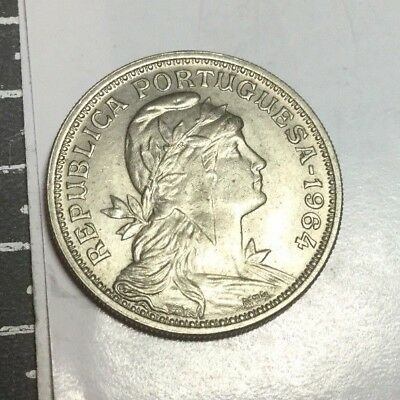 PORTUGAL 1964 50 Centavos  coin uncirculated