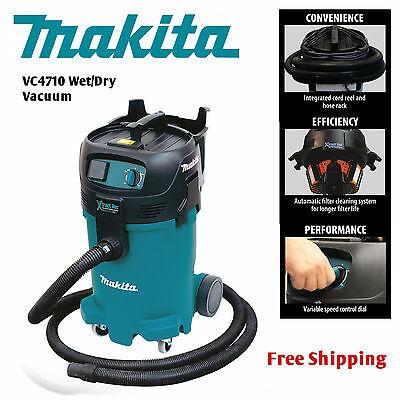 Makita XtractVac 12 Gal Wet/Dry Commercial Vacuum VC4710 SHIP SAME/NEXT BUS DAY