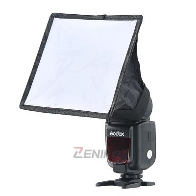 Pro 15*17cm Universal Flash Diffuser Mini Softbox for Nikon Canon Sony Pentax