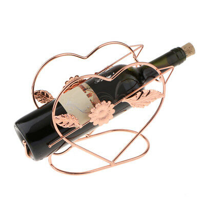 Red Wine Bottle Holder Champagne Wine Rack for Xmas Wedding Party Table Deco