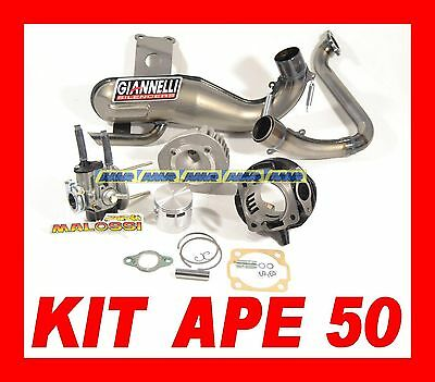 SET STRENGTHENING APE 50 TM set CYLINDER 102 + SILENCER + CARBURETTOR 19-19 orig