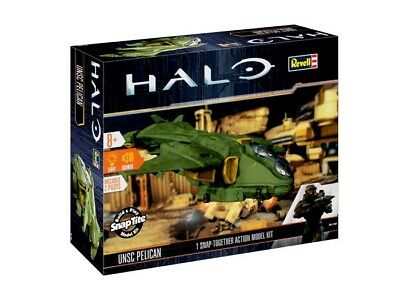 Revell 00061 - Halo - Build & Play Action Model Kit - Unsc Pelican - Neu
