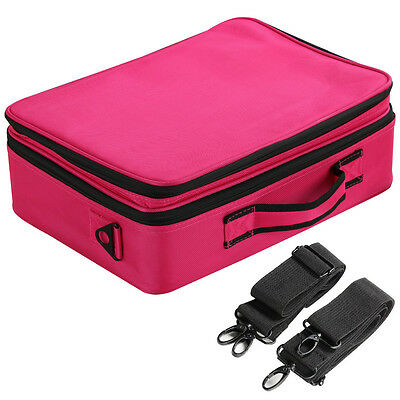 Beauty Vanity Case Make up Cosmetic Box Handle Bag Hairdressing Nail Art Salon