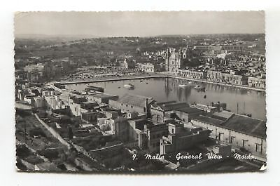 Msida, Malta - general view - 1958 used real photo postcard
