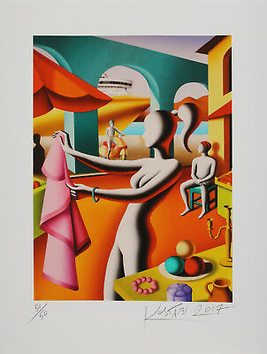 Mark Kostabi - For Alfredo or Salvatore - handsigniert