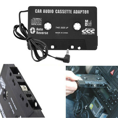 Audio AUX Car Cassette Tape Adapter Converter 3.5 MM for iPhone iPod MP3 CD C