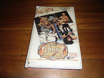 Grunt The Wrestling Movie! Premiere A body Slamming Comedy Cult WWF VHS TAPE