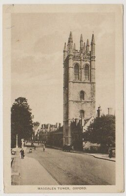 Oxfordshire postcard - Magdalen Tower, Oxford