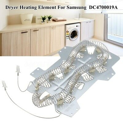 Dryer Heater Heating Element Replace 240V 5300WC Silver For DC4700019A SAMSUN