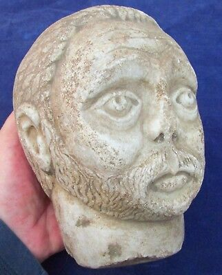 4.5 kg  - EXCELLENT Roman Marble BUST of  Emperor  c. 300 AD  (i0)