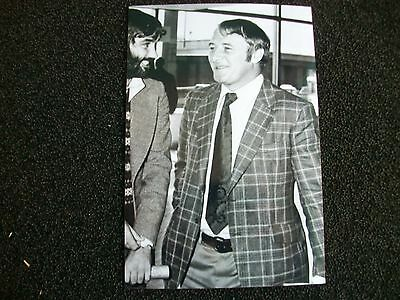 """MANCHESTER UNITED CHELSEA VILLA Manager Tommy Docherty 1960s Photo 6""""x4""""REPRINT"""