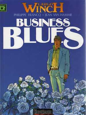 FRANCQ & VAN HAMME/..LARGO WINCH T4 business blues../Réédition DUPUIS 2000
