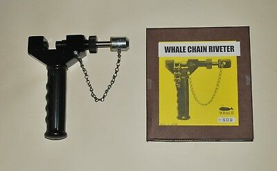 Whale Brand Chain Riveting Tool For 520 525 530 & 532 Chains Riveter CBT480-RVT