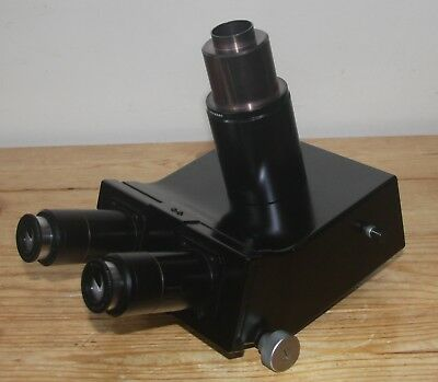 Leitz Trinocular Head with Eyepieces and Photo-Tube for ORTHOPLAN Microscope