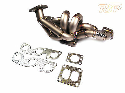 Skyline GTR RB26DETT 3mm Thick Stainless Steel T4 Turbo Exhaust Manifold