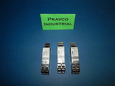 Lot of 3 Allen Bradley 595-AB Auxiliary Contact Series B Size 0-5 600VAC 595AB