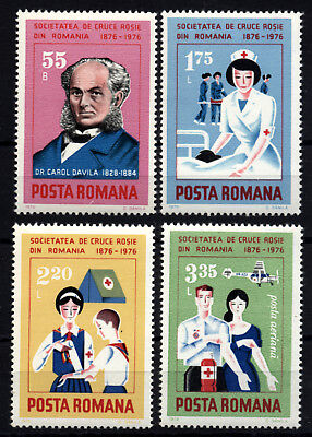 Romania 1976 Red Cross MNH -1286