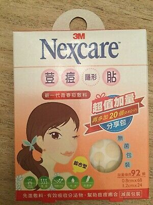 3M Nexcare Acne  Pimple Stickers Patch Combo (46 pcs)