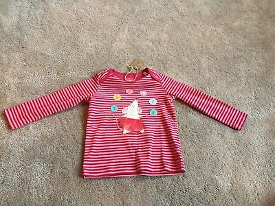 Joules Long Sleeve Top Age 18-24 Months