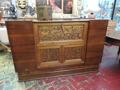 Extraordinary furniture bar Architect Pier Luigi Collars years 40 about rosewood