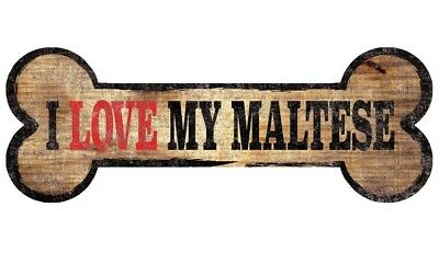 Maltese Sign - I Love My Bone 3x10