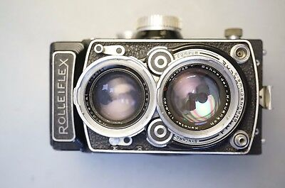 Rolleiflex 2.8 C Camera Sold As Is
