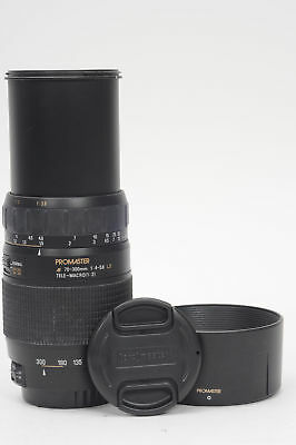 Promaster AF 70-300mm f4-5.6 Tele-Macro LD Lens Canon EF                    #390