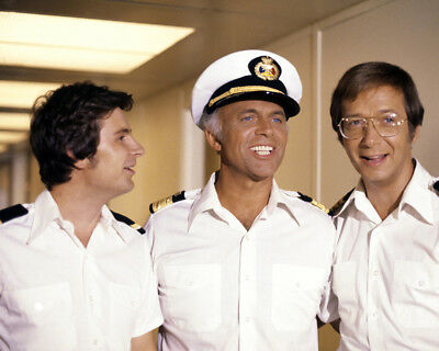 The Love Boat Gavin Macleod Bernie Kopell Fred Grandy 8X10 Photo