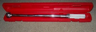 Snap-On Click Type Torque Wrench in Case  Series D USA