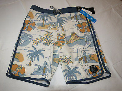 Boys O'Neill boardshorts surf youth 28 HyperFreak Nick Simich swim shorts trunks