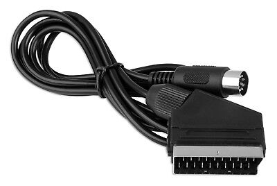 RGB AV TV Cable Lead Scart for Sega Mega Drive 1 Master System - 1 YEAR WARRANTY